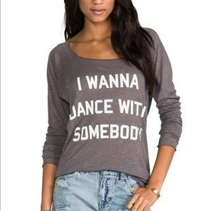 WILDFOX I Wanna Dance With Somebody Top